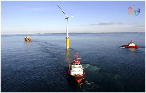 The world's first floating full-scale offshore wind turbine - Norway